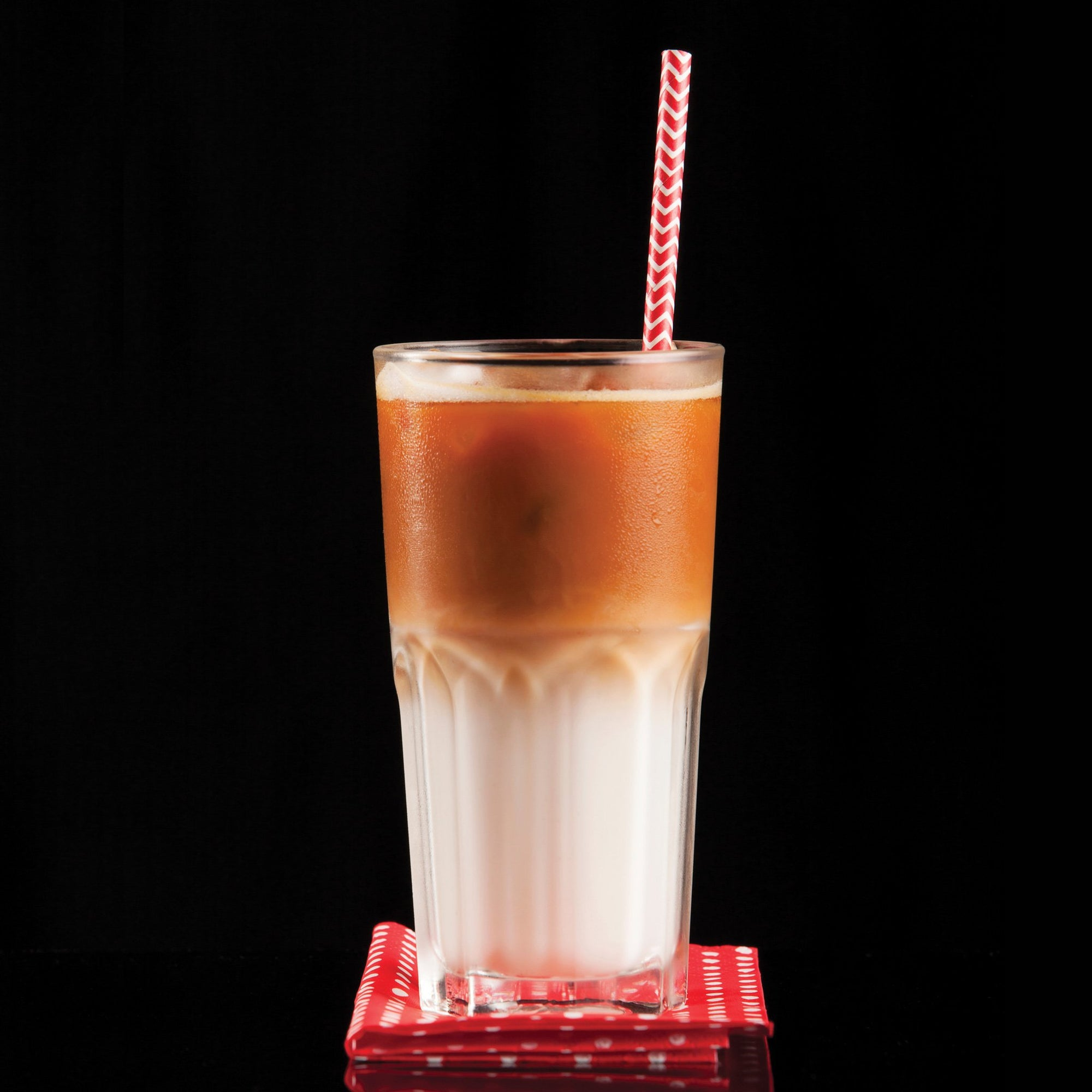 Rooibos iced red latte