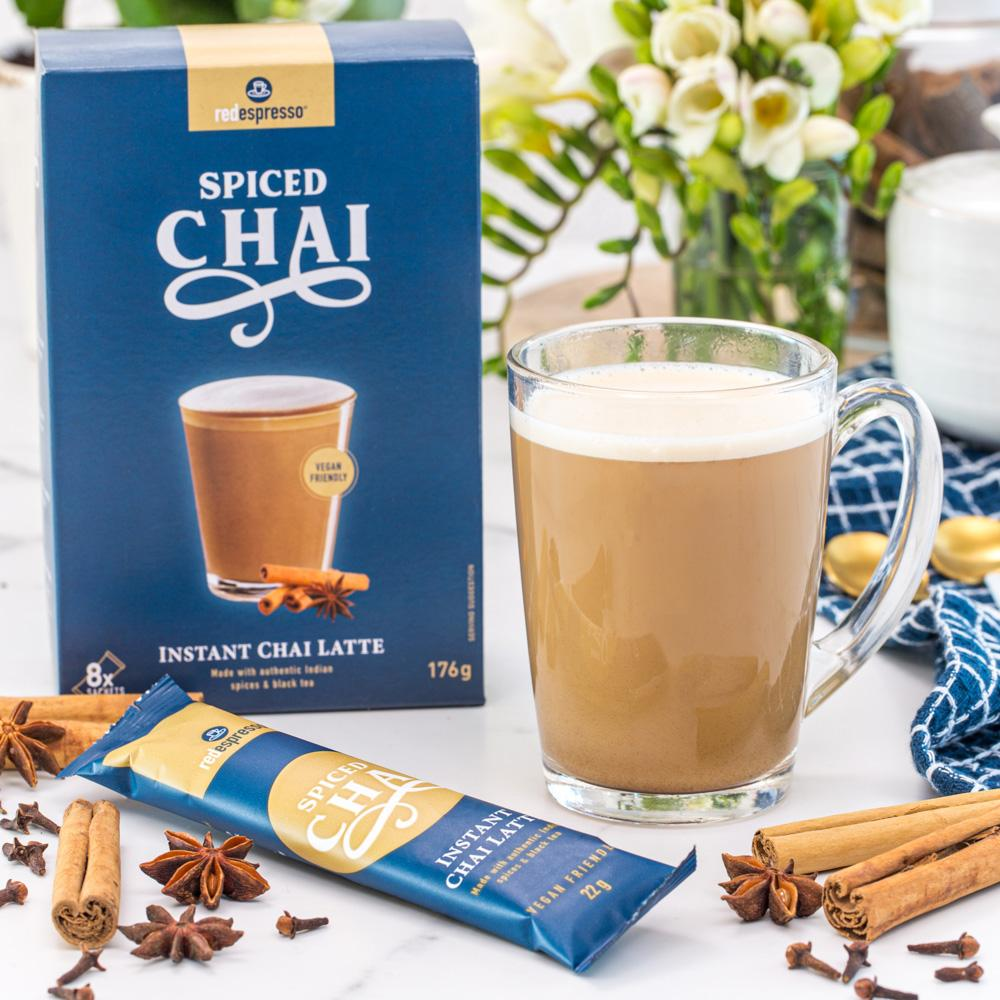 Instant spiced chai latte