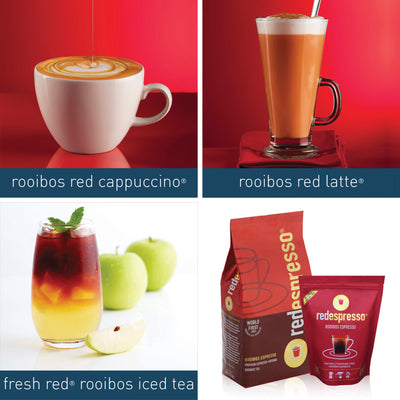 Put our rooibos drinks on your menu