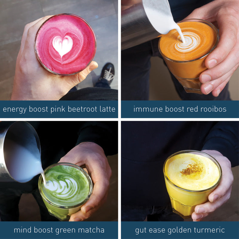 How to put our superfood lattes on your menu
