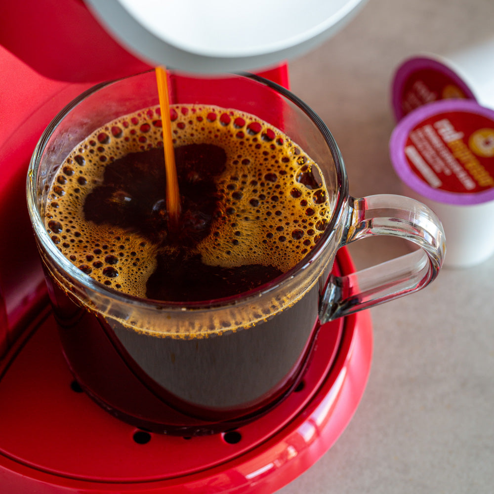 Making red espresso® rooibos on your Keurig Brewer