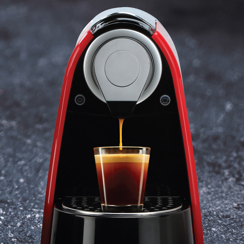 Making red espresso® Rooibos on your Nespresso machine