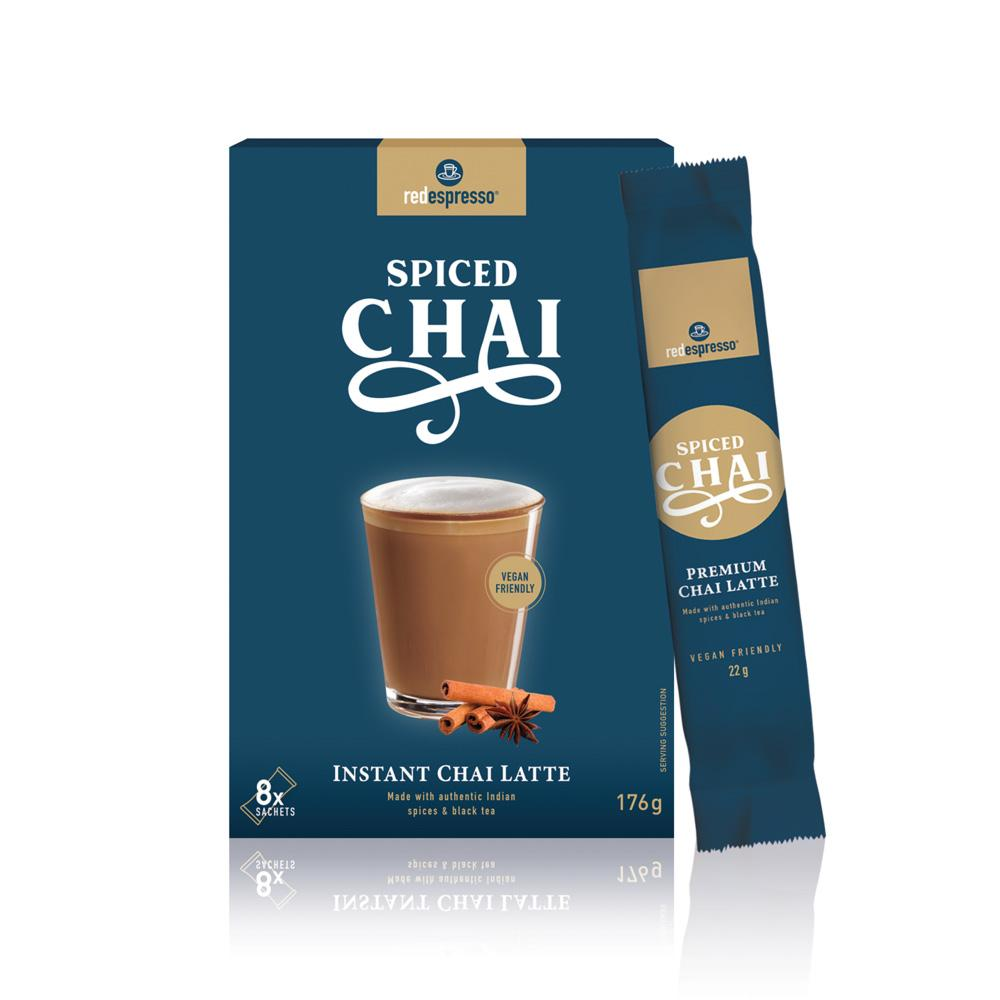 spiced chai latte sachet from red espresso brand