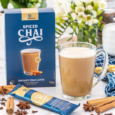 Red Espresso - Spiced chai latte sachets - vegan friendly