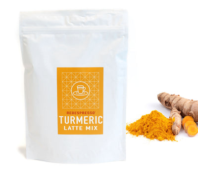turmeric latte mix from redespresso