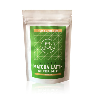 green tea matcha latte mix from red espresso brand