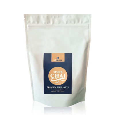 Red Espresso - Premium spiced chai latte powder 1kg (2.2Lbs) - vegan friendly