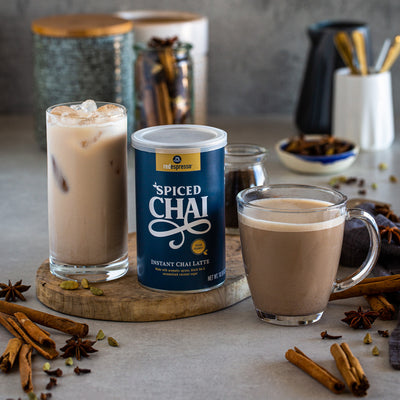 instant spiced chai latte tin from red espresso