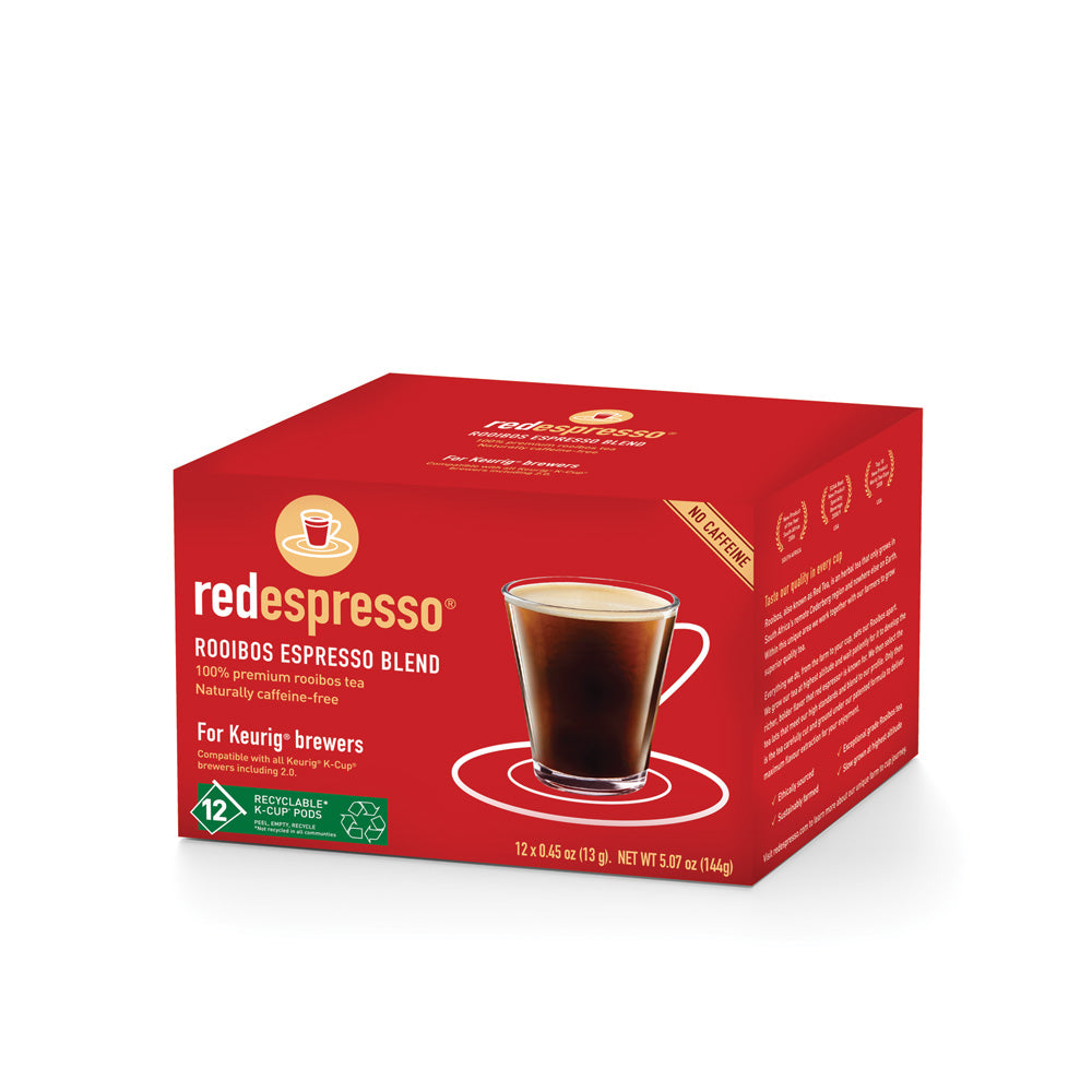 rooibos for keurig brewers from red espresso brand