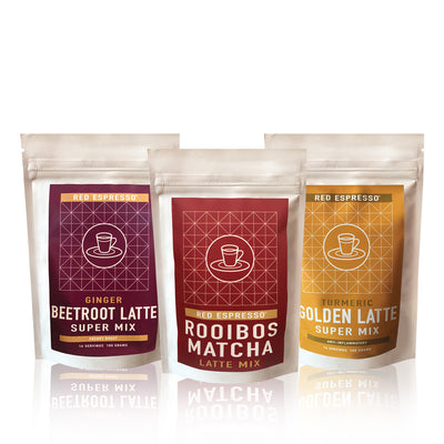 Superfood latte flavor 3 pack - Rainbow latte