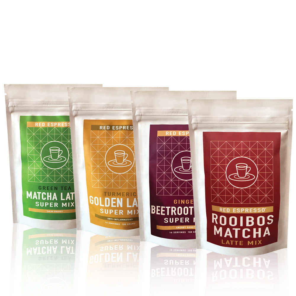 Superfood latte flavor collection - Rainbow lattes