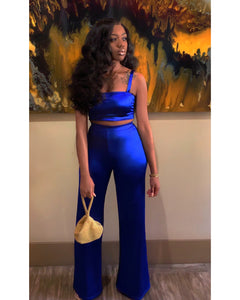 Satin Pretty | Royal Blue