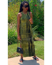 "Load image into Gallery viewer, The ""Toni"" Maxi Dress (Green)"