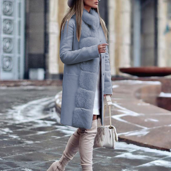 Fashion Long Sleeved Casaul Coat