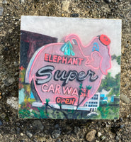 Super Elephant car wash