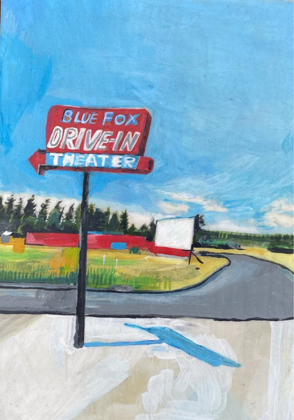 Blue Fox drive in
