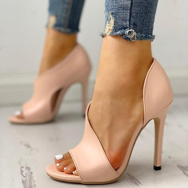 Sexy Stiletto Peep Toe Sandal High Heel