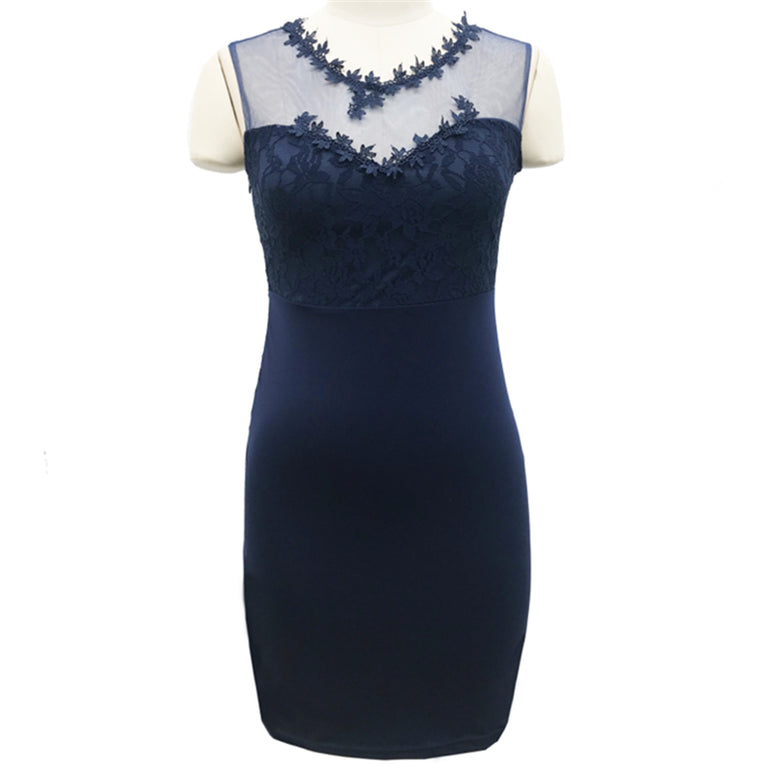 Lace Office Work Dress