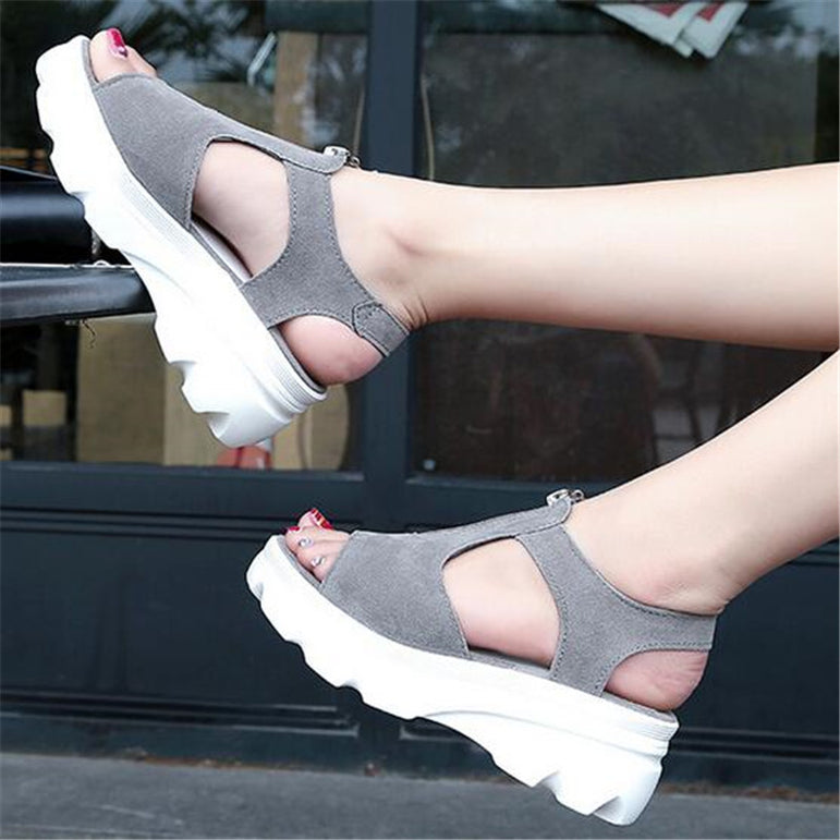 Casual Sandal Round Toe Style