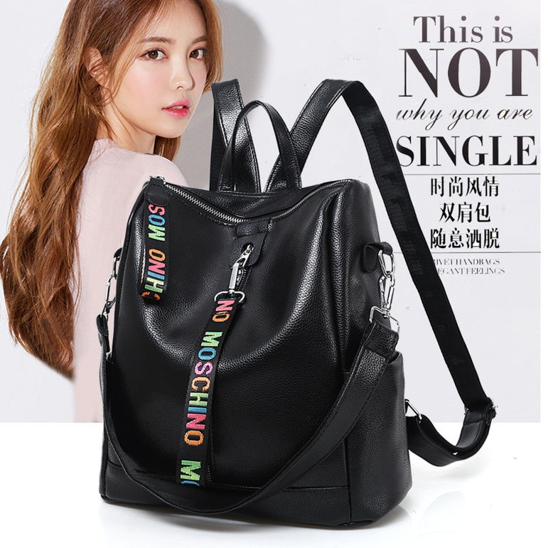 Leather High Quality Shoulder Backpacks