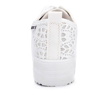Casual breathable platform woman sneakers