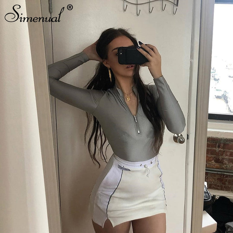 Casual Top And Mini Skirt Outfits