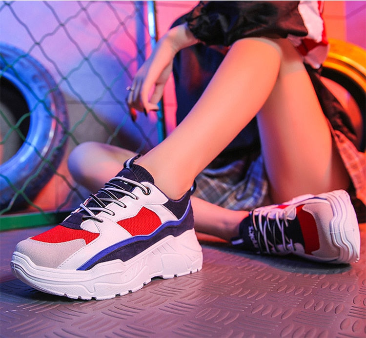 New Chunky Sneakers For Women