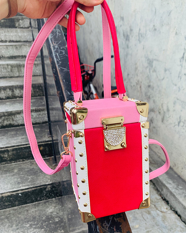 Luxury Shoulder Buckle Handbag