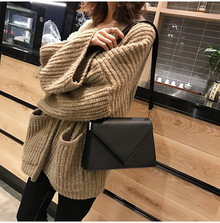 Casual Square bag Leather