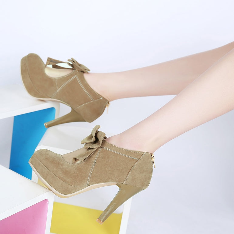New Arrival Bowtie Platform High Heel