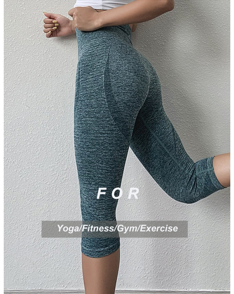 Fitness Seamless Workout Yoga Pants