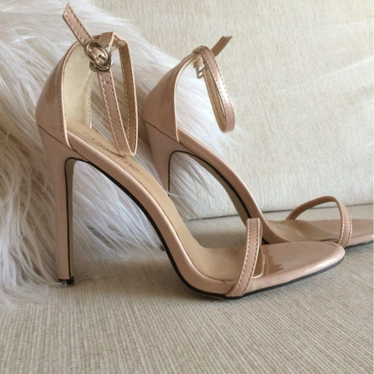 Bridal Open Toe Stilettos High Heel