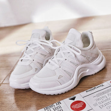 Casual Lace Up Sneaker Shoes