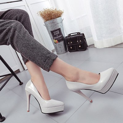 Super Shallow Mouth High Heel European Style
