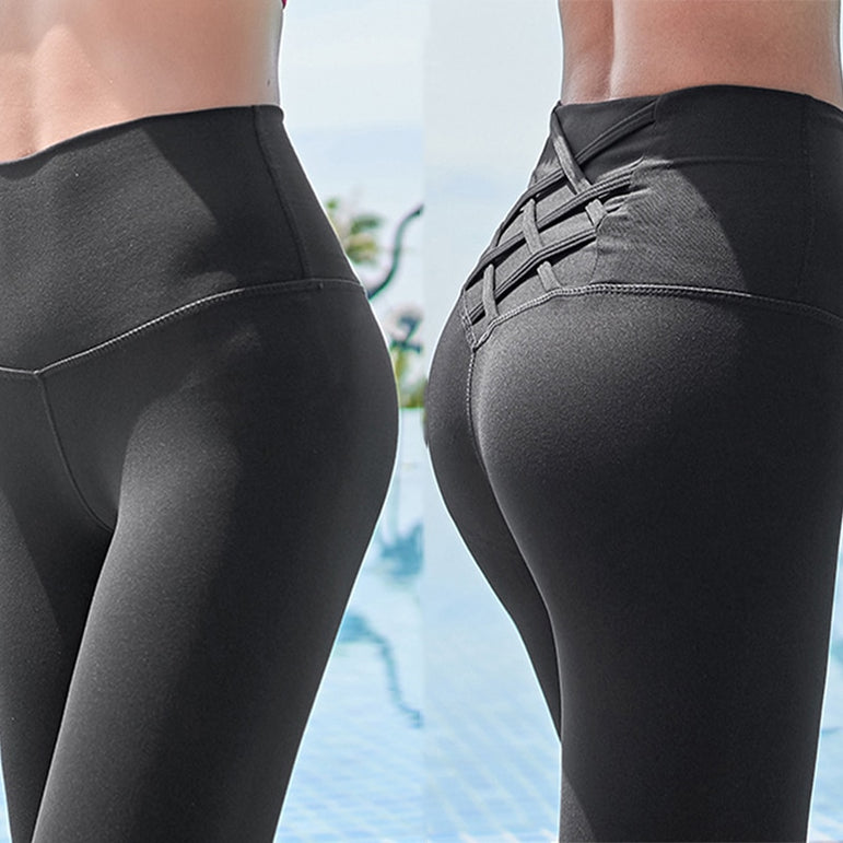 High Waist Tummy Seamless Sport Leggings