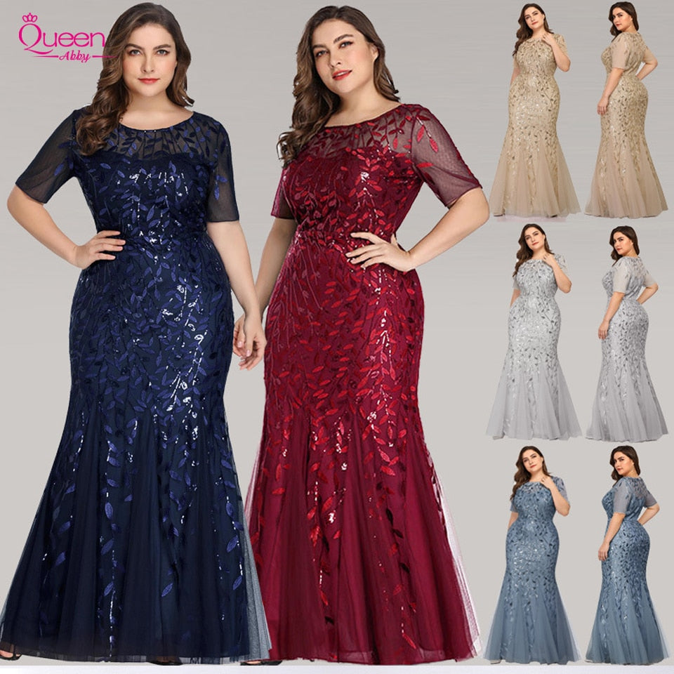 Long Party Gowns Mermaid Evening Dresses