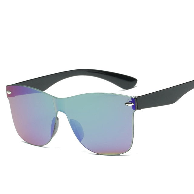 Transparent Sunglasses Colorful