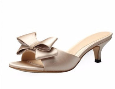 Thin Leather High heel Wedding Sandal