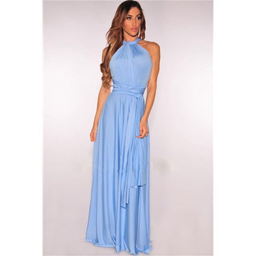 Party Bridesmaid Maxi Long Dress