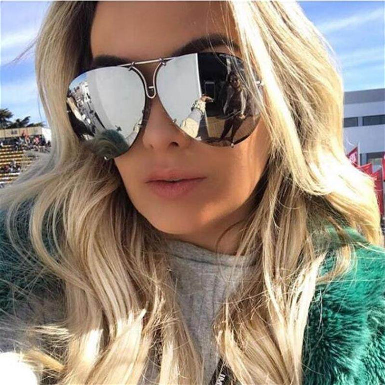 Black Pilot Sunglasses women