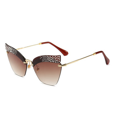 Cat Eye Gradient Shades Sunglasses