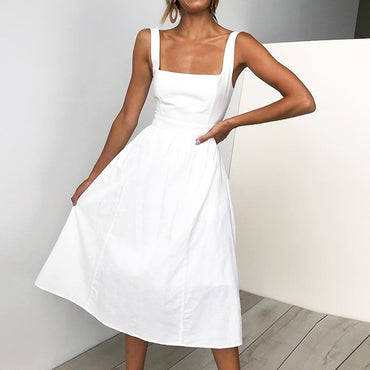 Casual Summer Strapless Dress