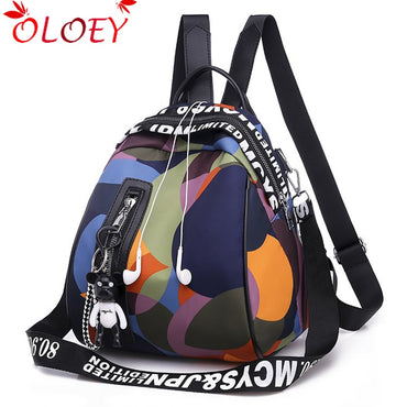 Casual Large Capacity Multi function Backpack