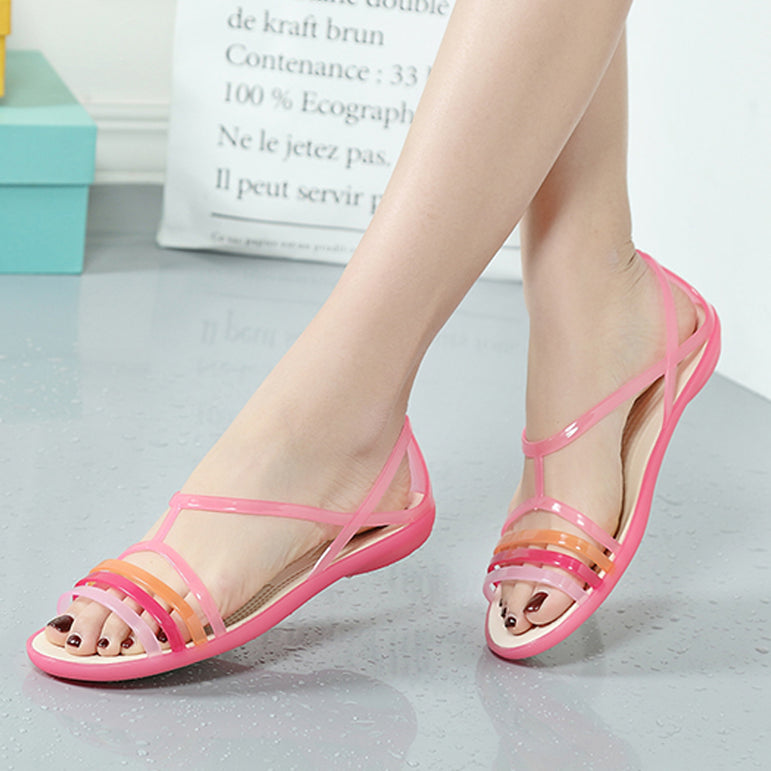 Casual Mixed Candy Sandal