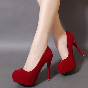 Sexy Stiletto Waterproof platform High Heel
