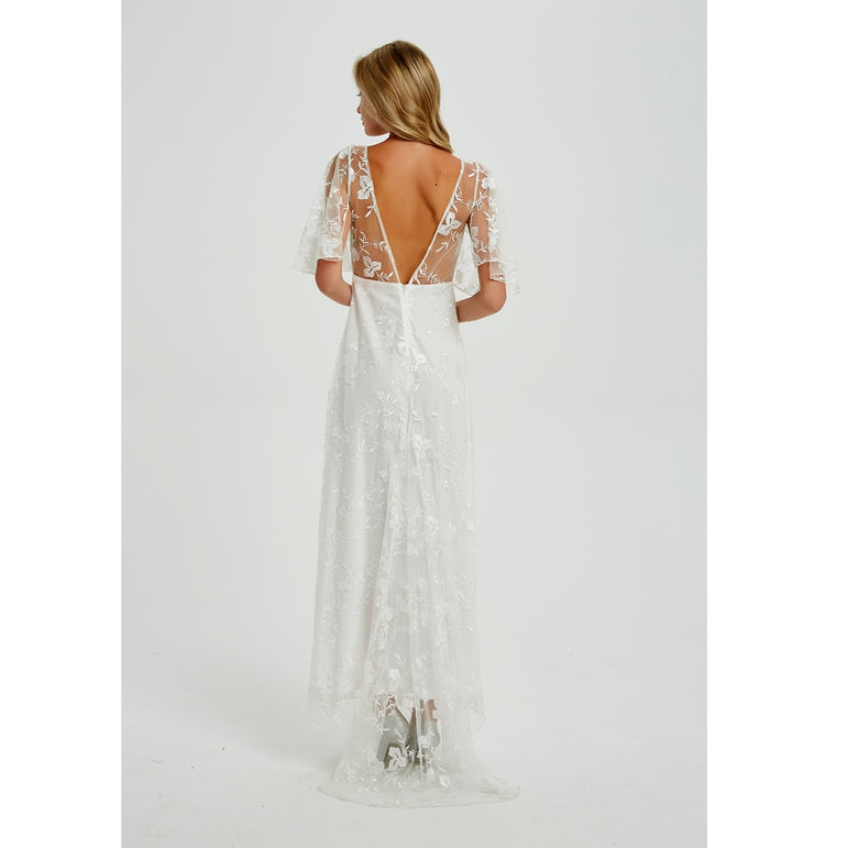 Casual Backless Party Dress