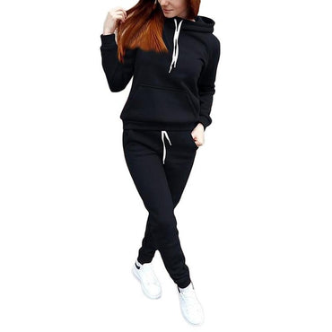 Long Sleeve Hoodies Sports Running Tracksuit
