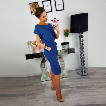 Casual  Women Slim Dress
