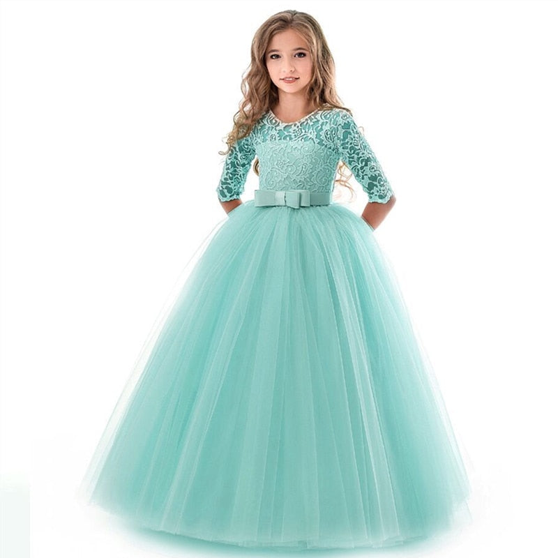 Princess Lace Kids Dress