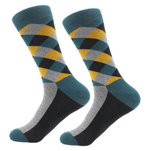 Colourful Geometric Dress Socks